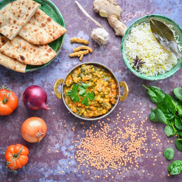 Praveen Kumar Spinach Tadka Dal Ready Meals Soups Pu