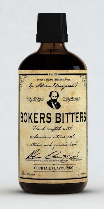Dr Adam's Boker's Bitters