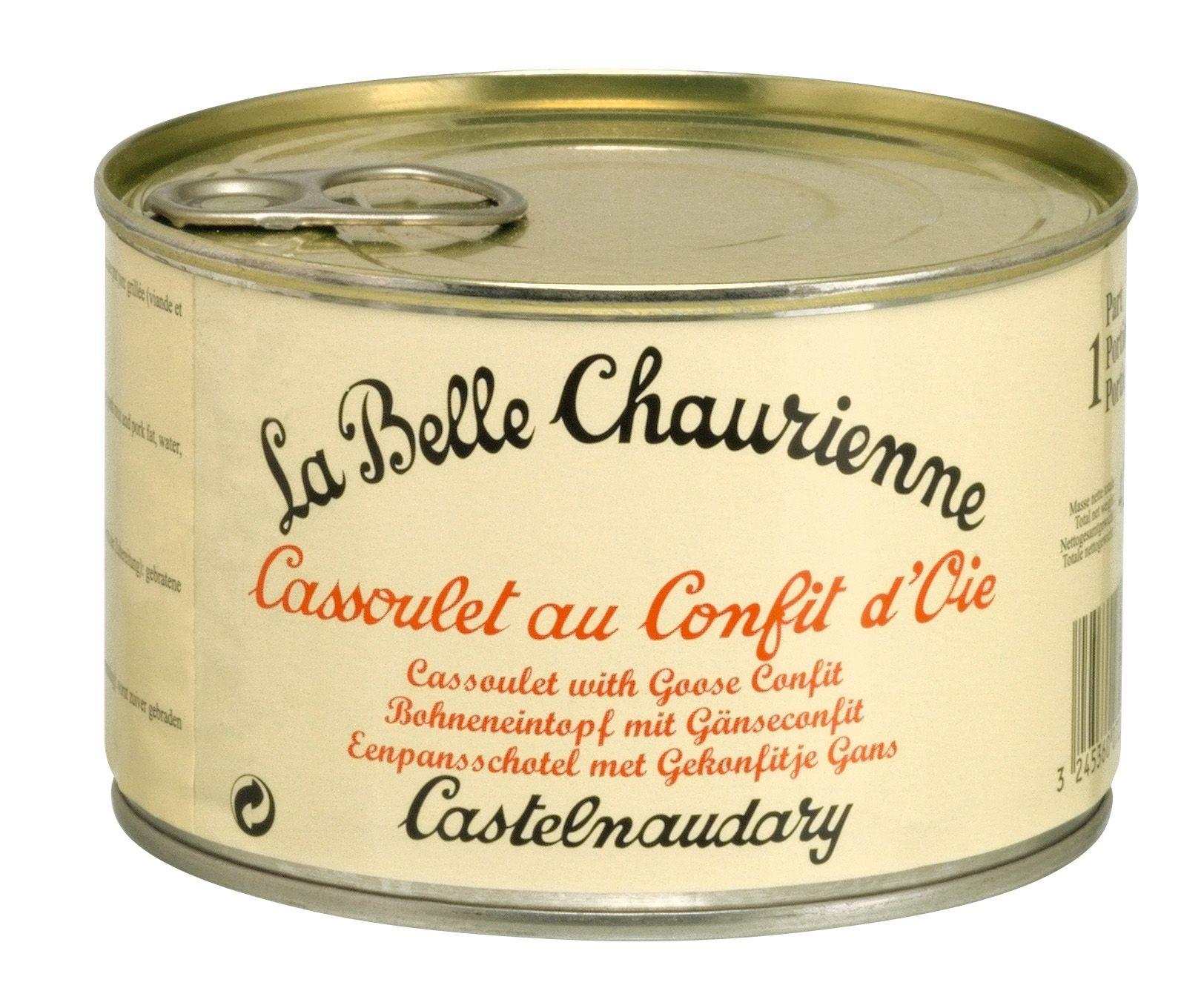 Goose Confit Cassoulet