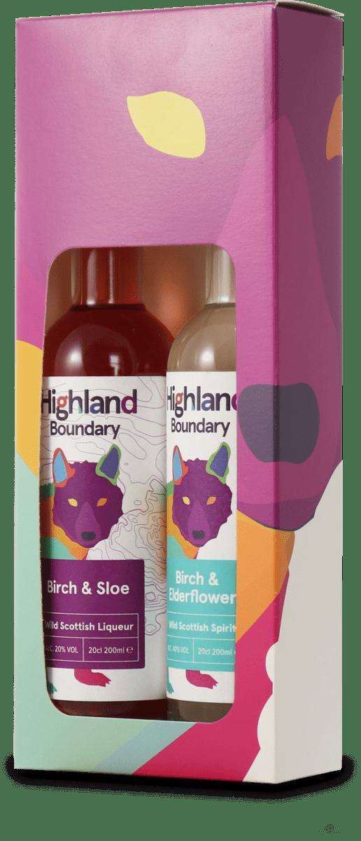 Highland Boundary Liqueur & Sloe Gift Se