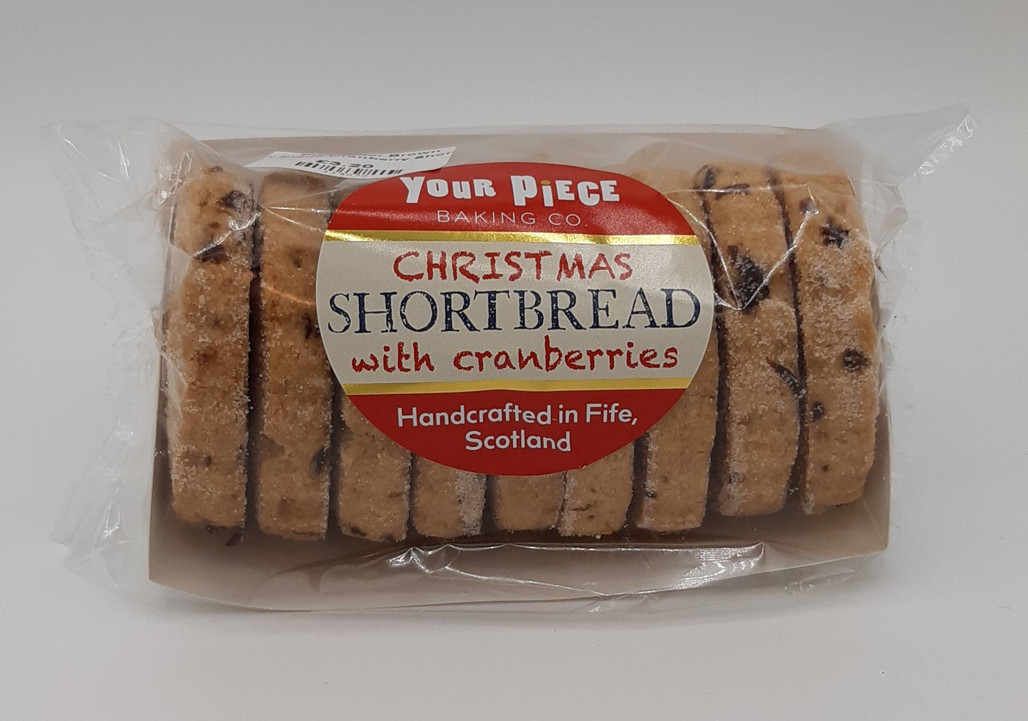 Your Piece Cranberry Shortbread