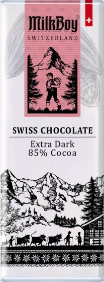 Milk Boy Extra Dark Chocolate Chocolate Bars