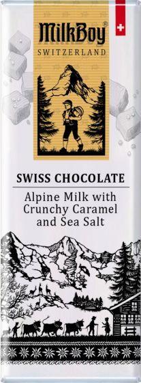 Milk Boy Milk Chocolate Caramel Sea Salt