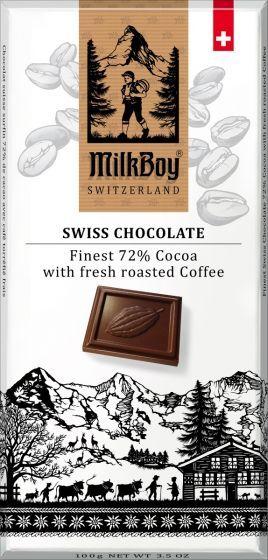 Milk Boy Coffee 72% Chocolate
