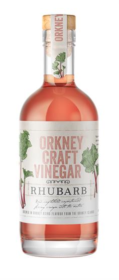 Orkney Craft Rhubarb Vinegar Vinegars