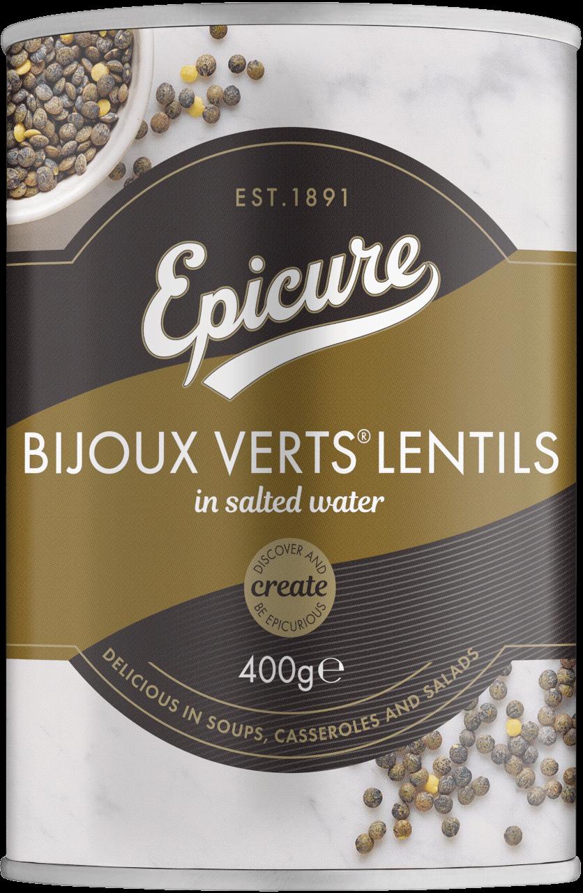 Epicure Bijoux Verts  Lentils