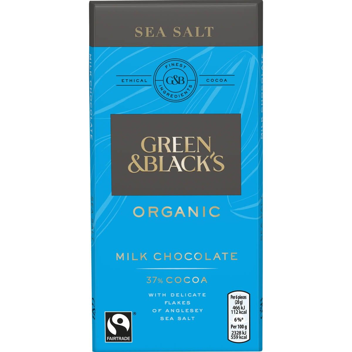 Green & Blacks Milk Chocolate Sea Salt