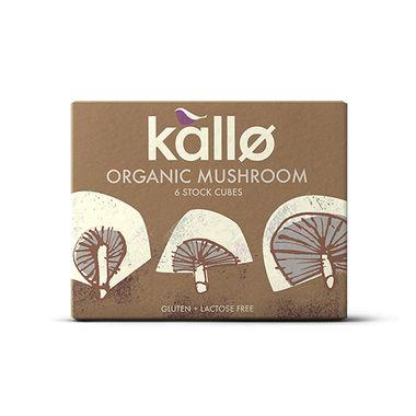 Kallo Mushroom Stock Cubes