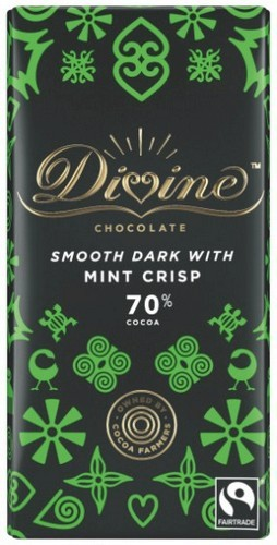 Divine Mint Crisp Chocolate