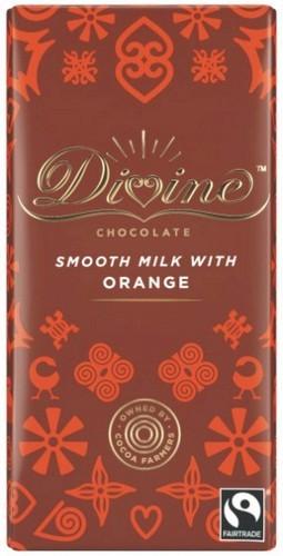 Divine Orange Milk Chocolate