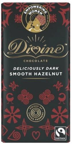 Divine Hazelnut Dark Chocolate