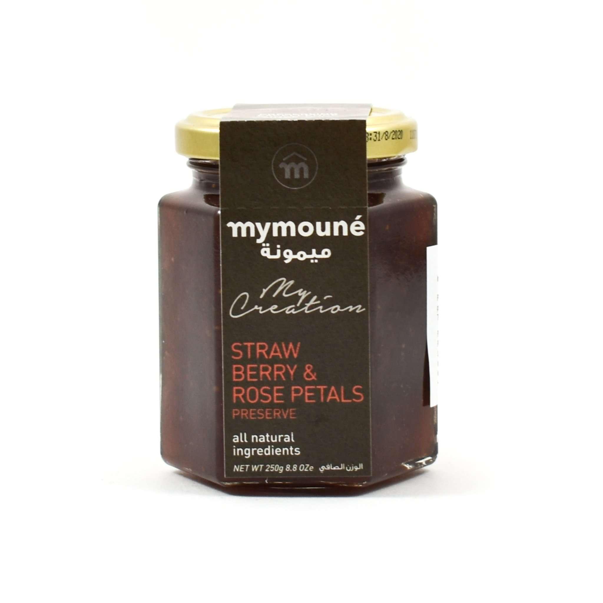 Mymoune Strawberry & Rose Jam