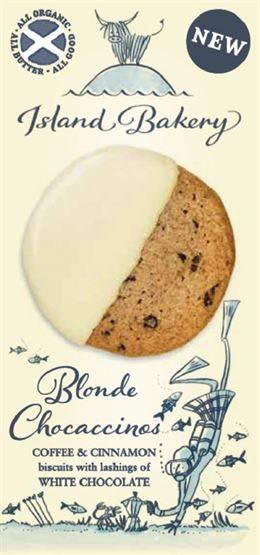 Island Bakery Blonde Chocaccinos Sweet Biscuits