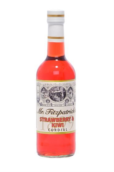 Mr Fitzpatrick Strawberry & Kiwi Cordial