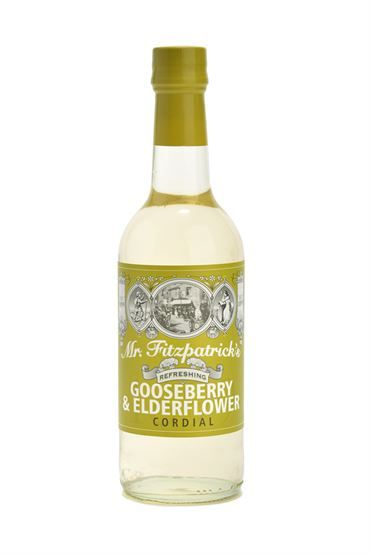 Mr F Gooseberry & Elderflower Cordial