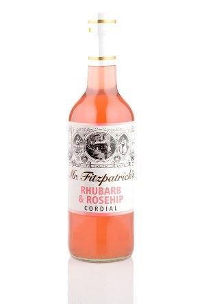 Mr Fitzpatrick Rhubarb & Rose Cordial Mixers & Soft Drinks