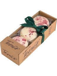 Teoni's White Choc & Raspberry Cookies