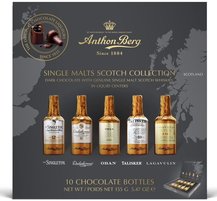 Anthon Berg Single Malt Liqueurs