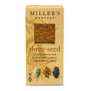 Miller's Three Seed Crackers