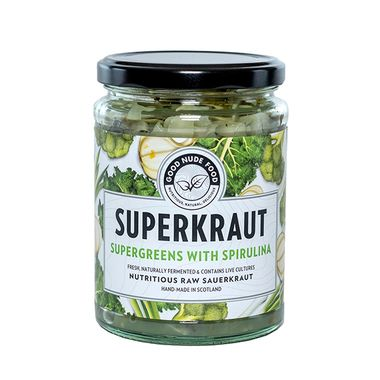 Good Nude Food Supergreens Sauerkraut
