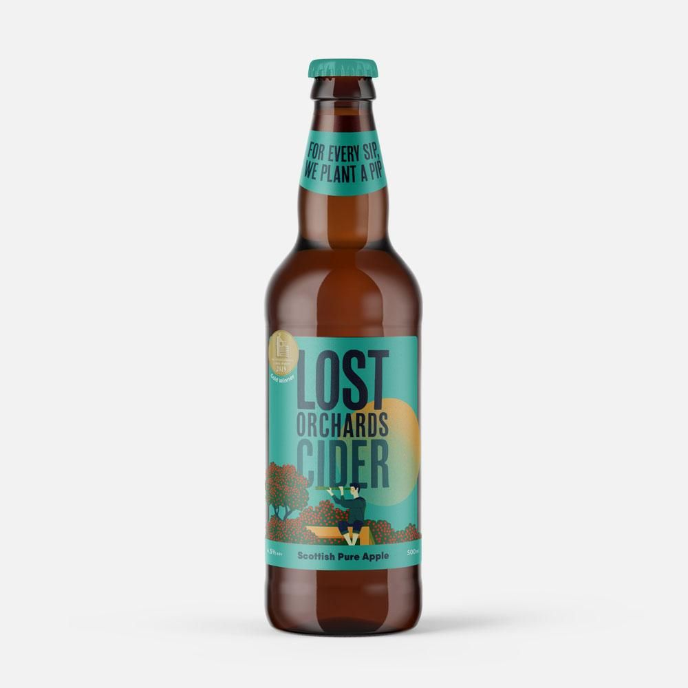 Lost Orchard Scottish Pure Apple Cider Beers & Cider