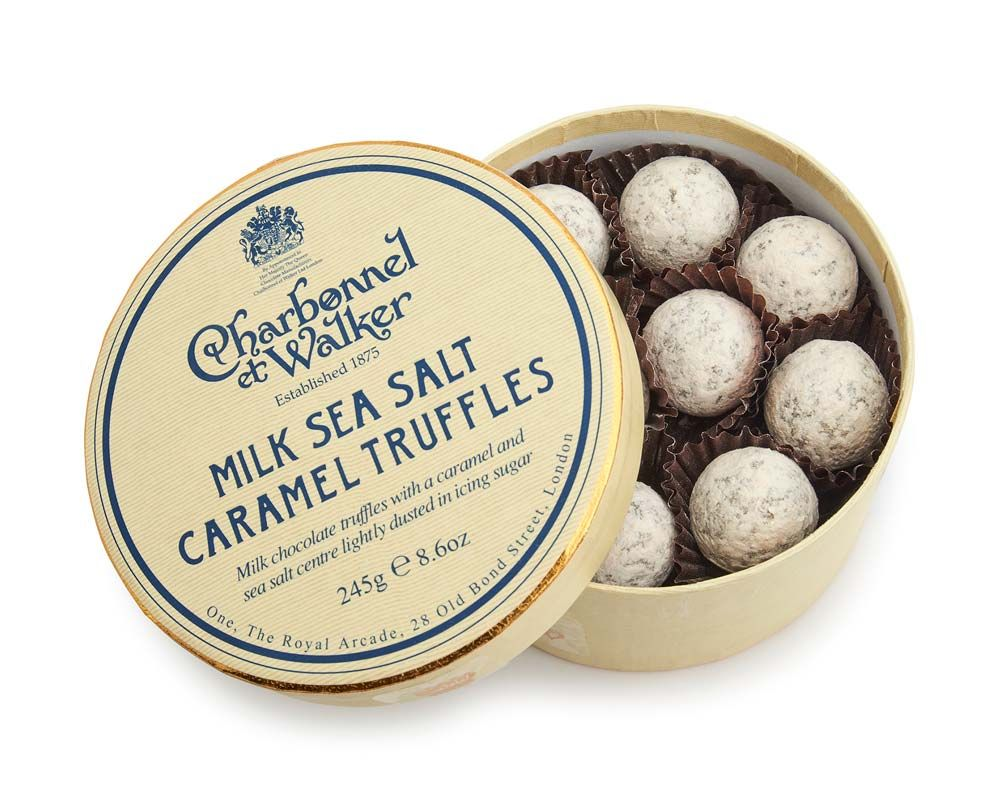 C&W Milk Sea Salt Caramel Truffles