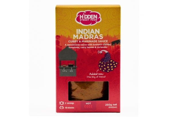 HSF Indian Madras Curry Sauce