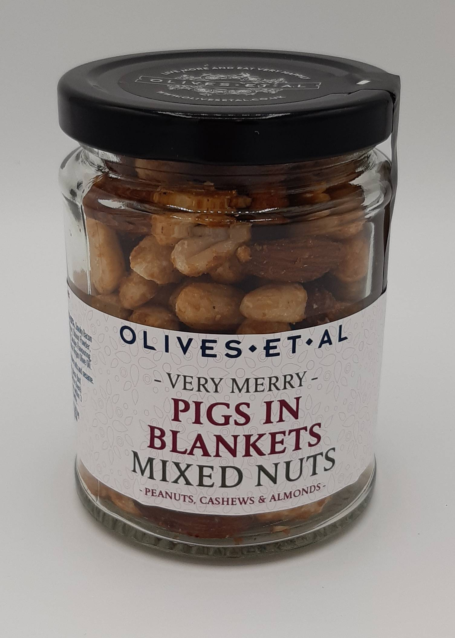 Olives et Al Pigs in Blankets Mixed Nuts Nuts