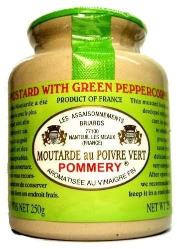 Pommery Green Peppercorn Mustard