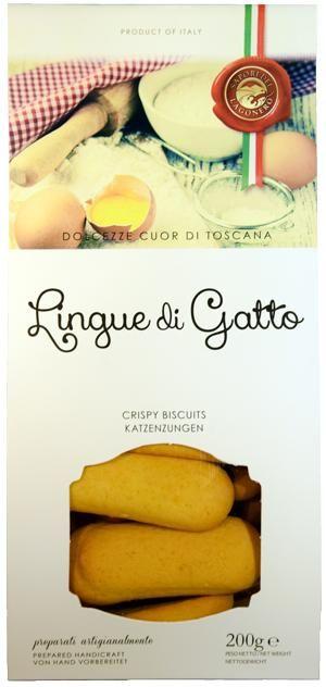 Lagonero Lingue di Gatto