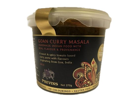 Previns Goan Curry Masala Curry Sauces & Paste