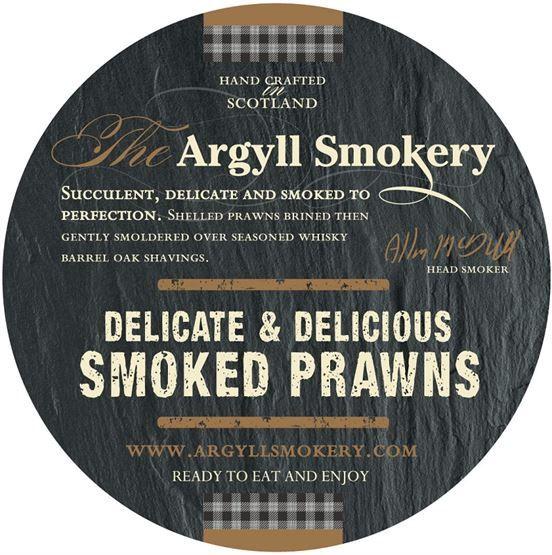 Argyll Smokery Smoked Prawns