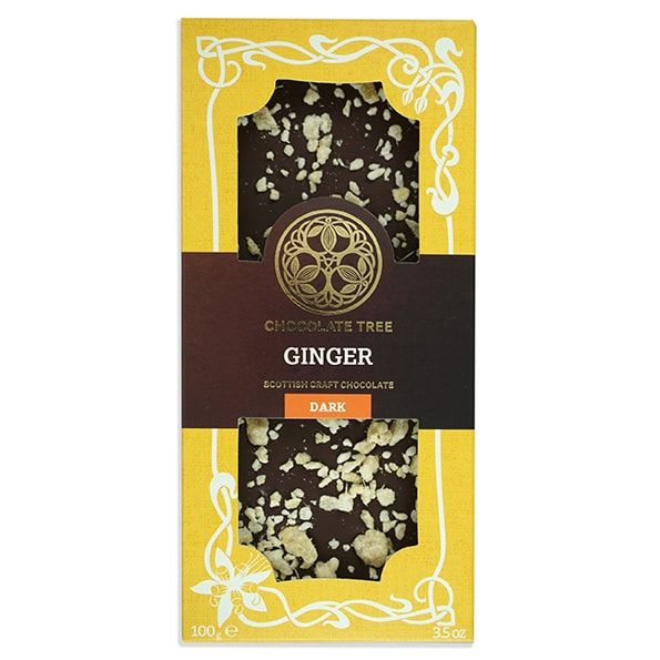 The Chocolate Tree Ginger 70% Bar