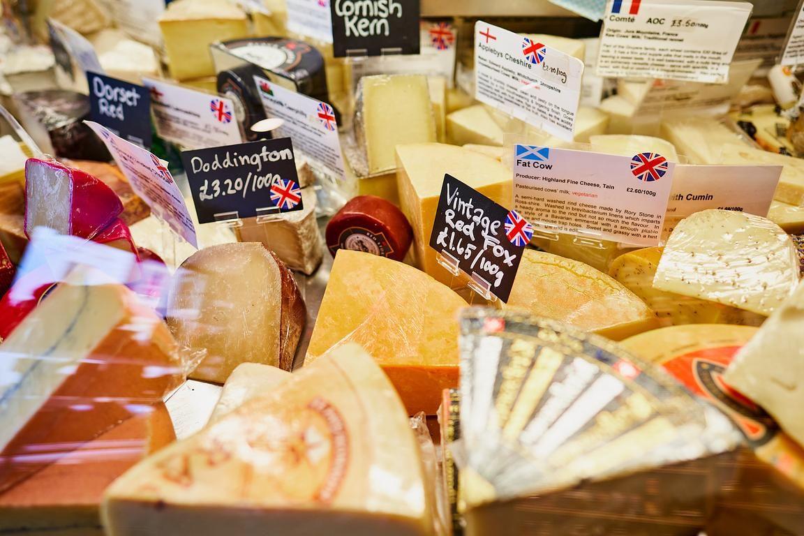 British Cheese Hamper Ready Made Hampers