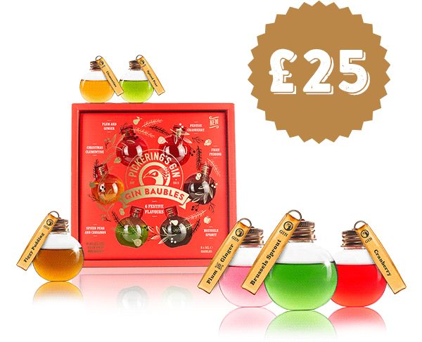 Pickerings Festive Flavours Baubles