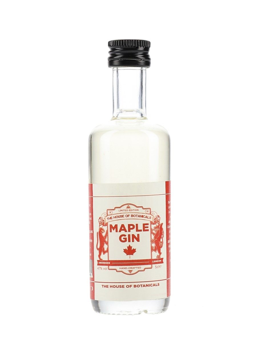House of Botanicals Maple Gin Gins & Gin Liqueurs