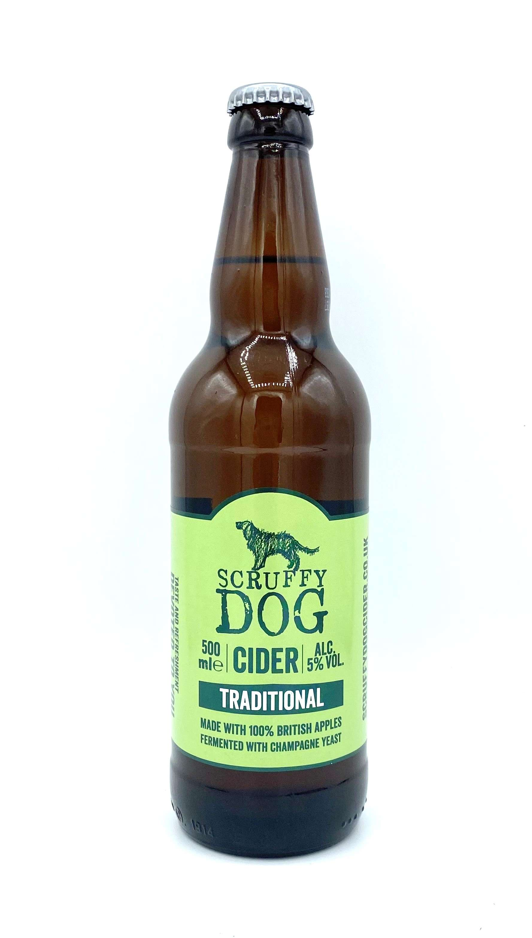 Scruffy Dog Traditional Cider Beers & Cider