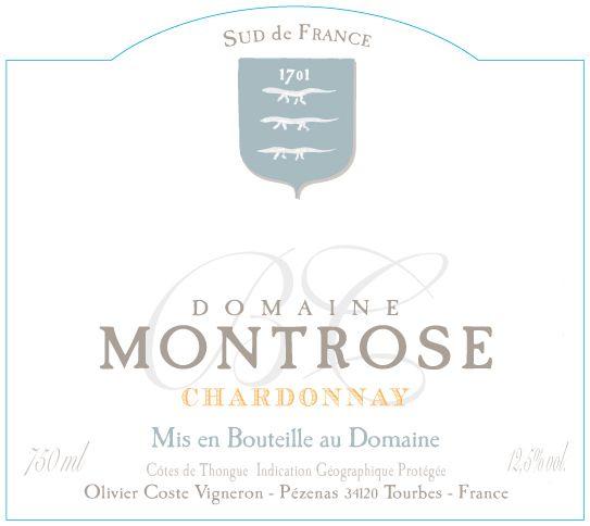 Domaine Montrose Chardonnay IGP