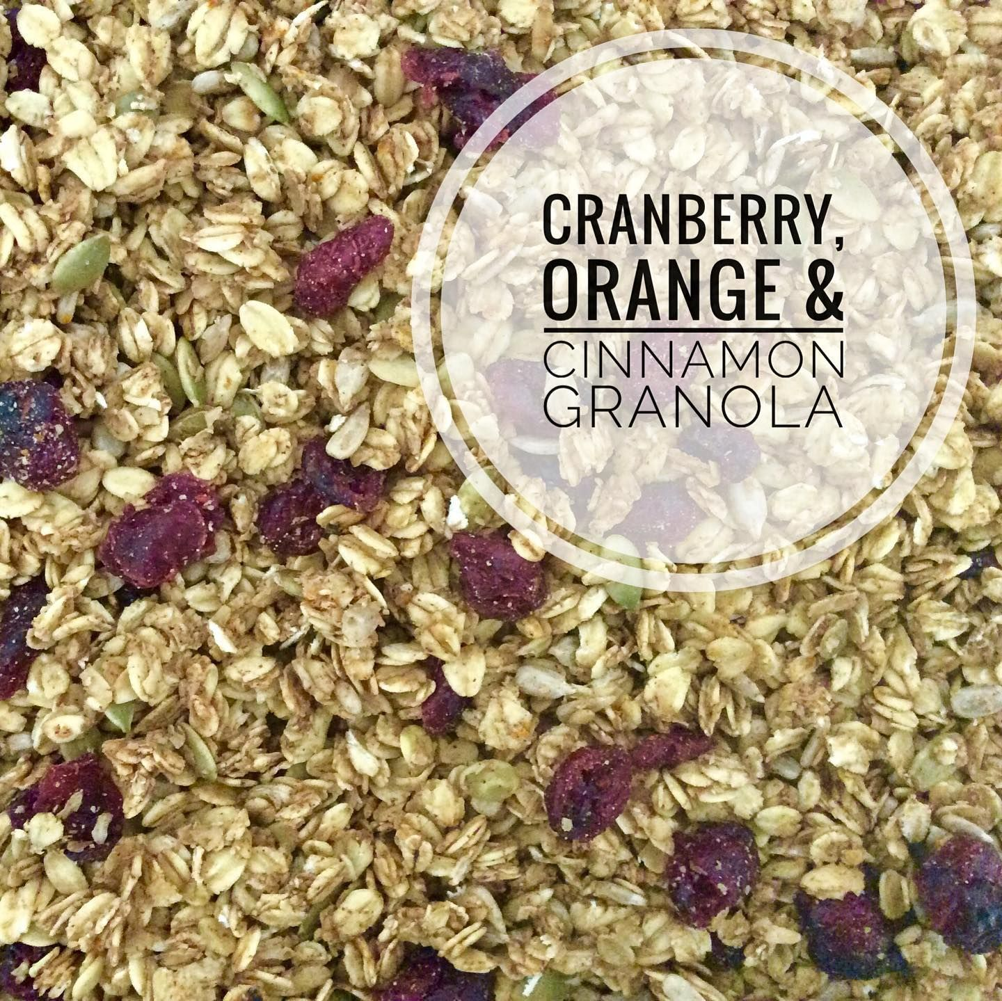 Green's Cranberry Granola