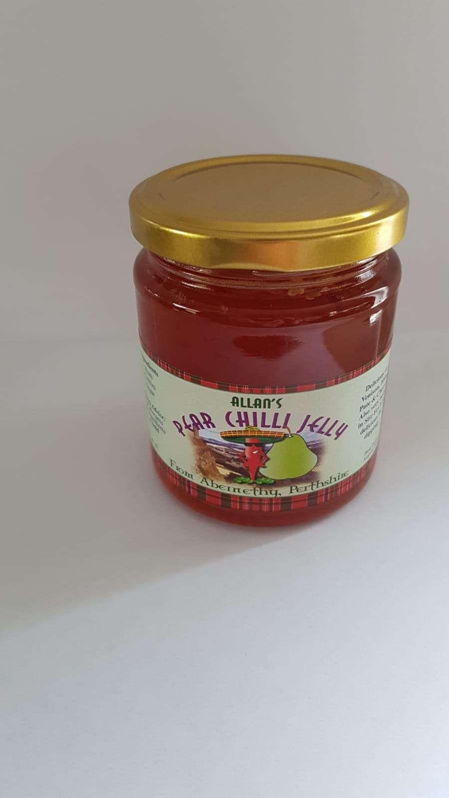 Allan's Pear Chilli Jelly