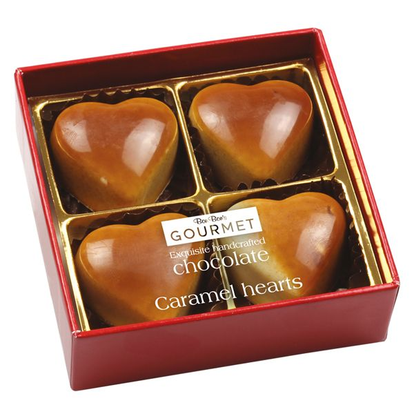 Bon Bon's Chocolate Caramel Hearts