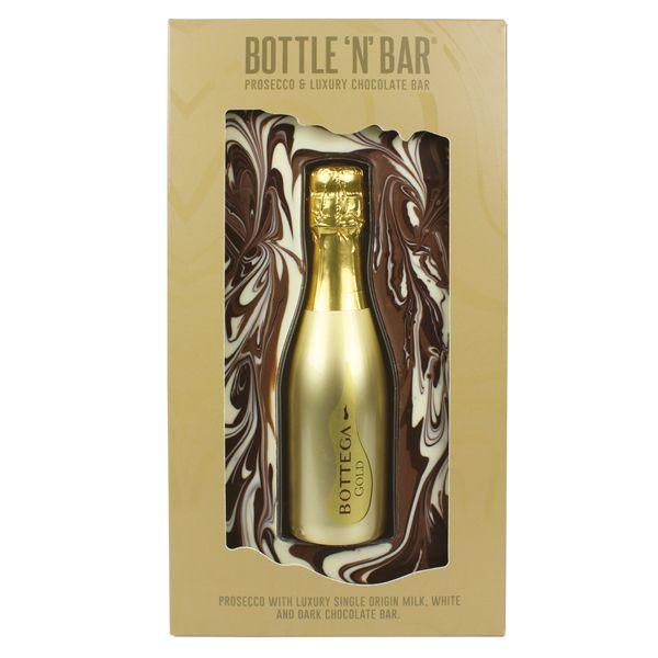 Prosecco & Milk Chocolate Bar Gifting Chocolates