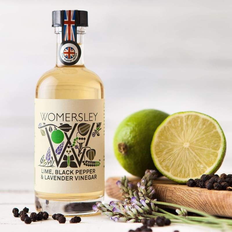 Womersley Lime Pepper Lavendar Vinegar