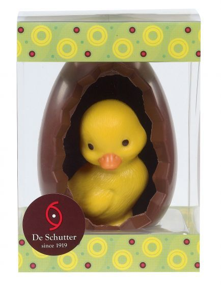 De Schutter Open Egg with Baby Chick