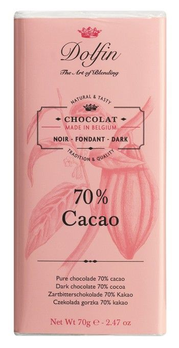 Dolfin 70% Dark Chocolate