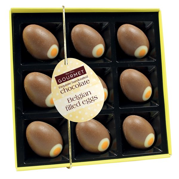 Bon Bon's Eggcellent Belgian Filled Eggs