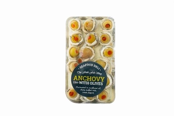Seafood Deli Anchovy with Olives