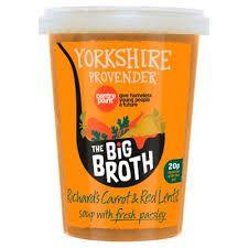 Yorkshire Provender Carrot & Lentil Soup