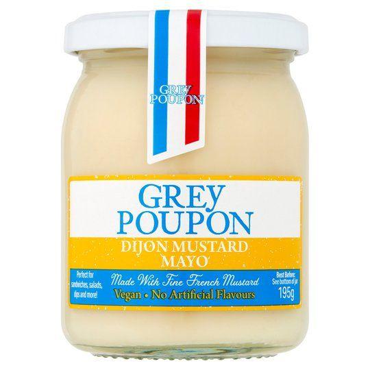Grey Poupon Vegan Dijon Mustard Mayo