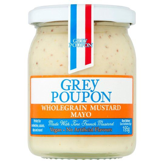 Grey Poupon Vegan Wholegrn Mustard Mayo